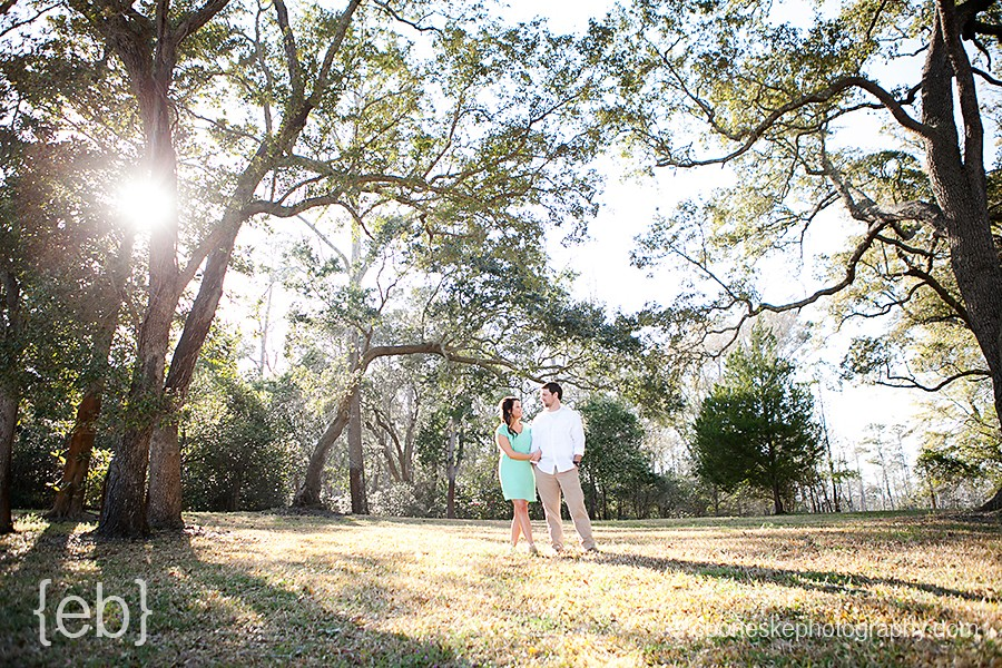 Wilmington NC Rustic Engagement Pictures