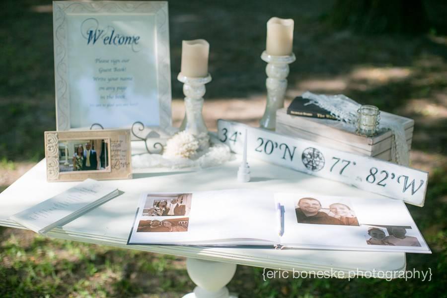 Wilmington Wedding Photography, Eric Boneske Photography, Wilmington, NC, Wilmington Weddings, Garden, Outdoor, Green, White, Simple, Beautiful, Engaged, Waterfront, Live Oak Tree, Big Tree, Intracoastal, Cupcakes, Best Wilmington Wedding Photographer