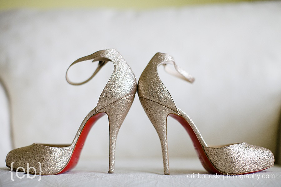 bridal shoes Christian Louboutin