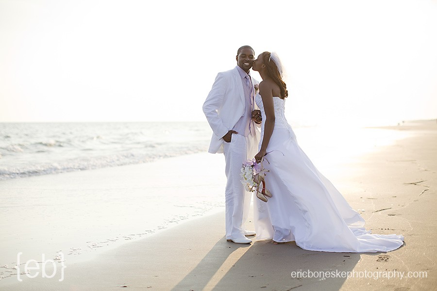 Bald head Island beach wedding and portrait photography