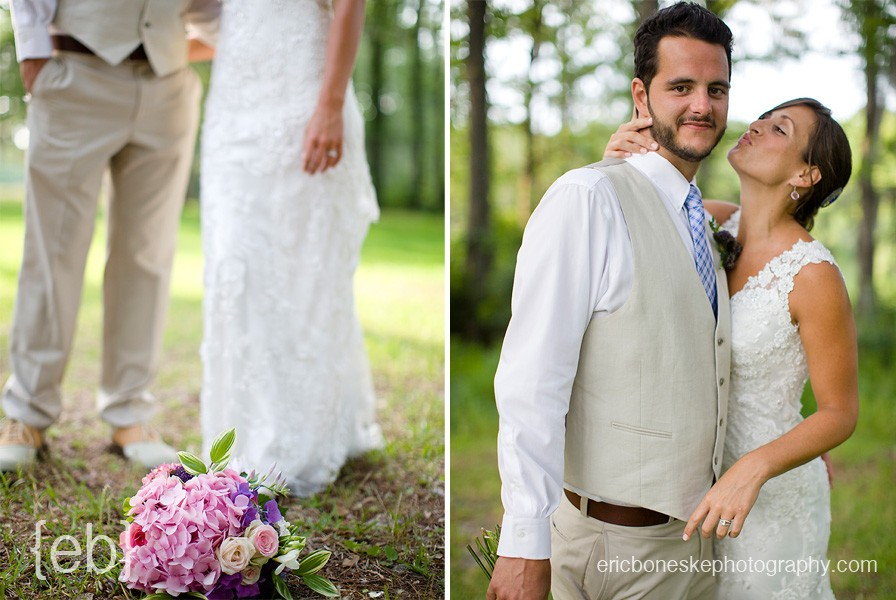 Greenfield Lake NC wedding pictures
