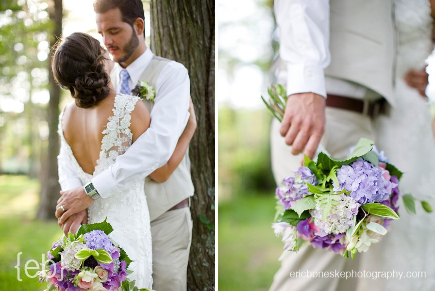 Weddings in Greenfield Lakes Fragrance Gardens.