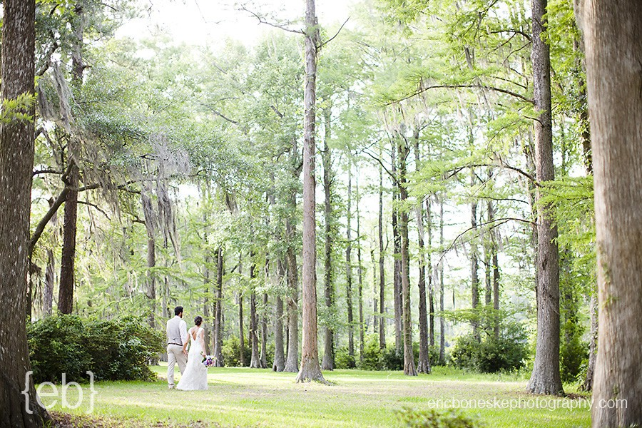 Wilmington Wedding Photography at Greenfield Lake