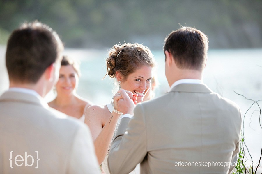 St. John USVI wedding photography