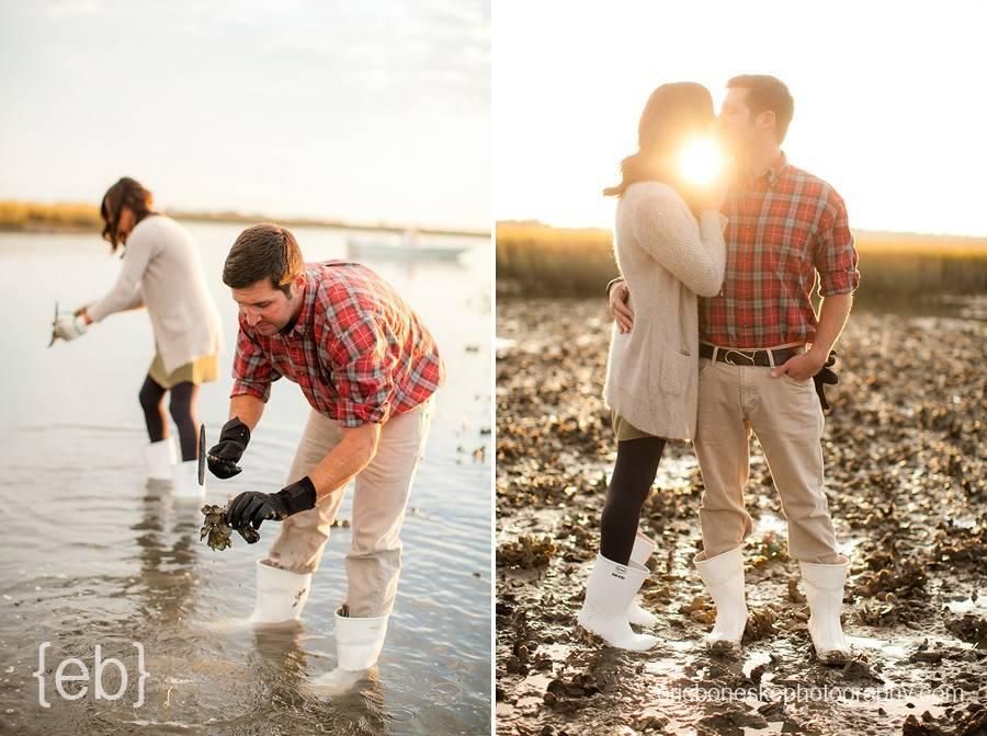 figure eight island, engagement, beach, nc, north carolina, figure 8, wedding photographers, eric boneske photography, oysters, boat, sunset, coastal, salt water, beautiful, fun, wilmington