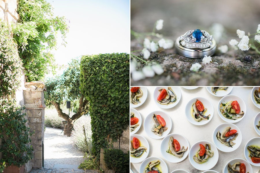 eric boneske photography, destination, travel, wedding photographer, Tuscany Italy, Italian, bride, groom, husband, wife, engagement ring, food, blue ruby, diamonds, trees,