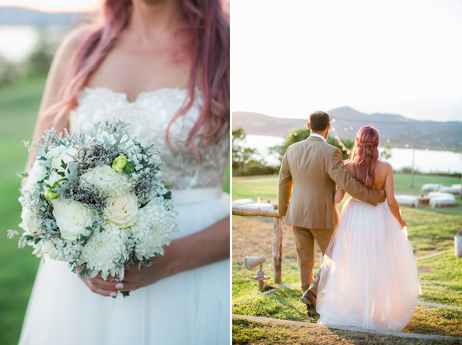 eric boneske photography, destination, travel, wedding photographer, Tuscany Italy, Italian, bride, groom, husband, wife, engagement ring, blue ruby, diamonds, white flower. bouquet,