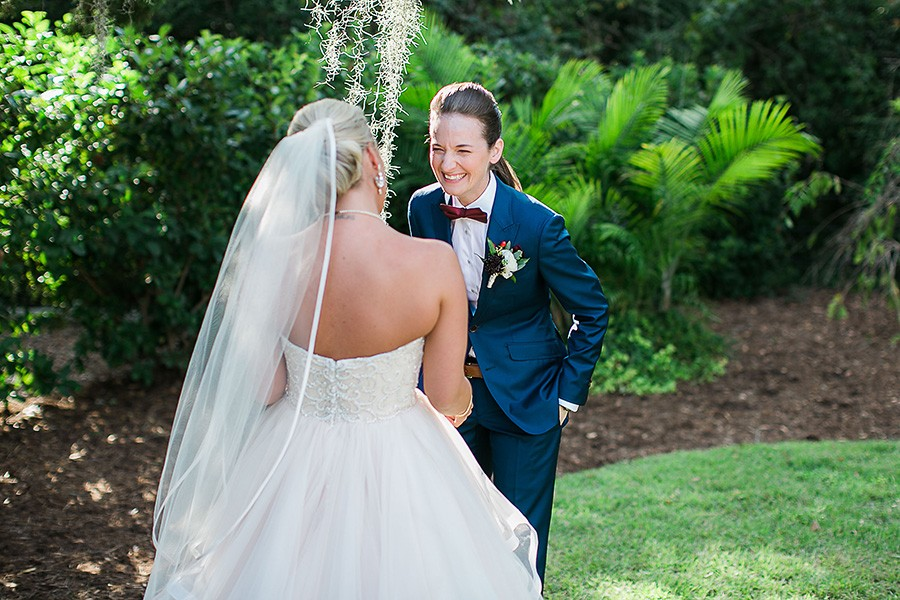 eric boneske photography, wedding photographer, wrightsville manor, wilmington nc, north carolina, coastal wedding, venue, she said yes, first dance, bride and bride,
